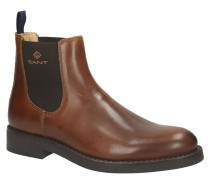 """Chelsea Boots """"Oscar"""", Glattleder, Logo-Branding"""