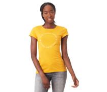 T-Shirt, Front-Print, reine Baumwolle, Flammgarn