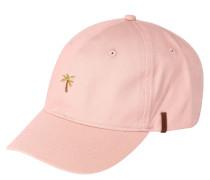 "Cap ""Posse"", Baumwolle, Palmen-Stickerei, Leder-Detail"