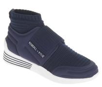 Sneaker, Sock-Like-Look, elastischer Riemen, Mesh