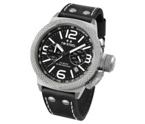 Canteen Leather Herrenuhr CS4, Chronograph