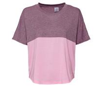 T-Shirt, elastisch, meliert