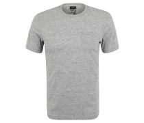T-Shirt, Rundhalsausschnitt, Brusttasche, Melange