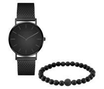 Set Uhr und Armband LS-0009-MQB