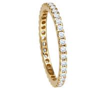 Ring, Gelb 585, mit 32 Diamanten, zus. ca. 0