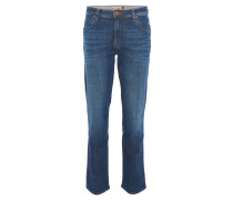 """Jeans """"Texas"""", gerader Schnitt, Stretch-Anteil, Logo"""