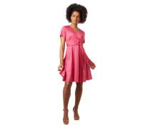 Kleid, Wickel-Optik, Taillengürtel, Reißverschluss