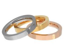 Titan Ring Set, in 3 verschiedenen Farben