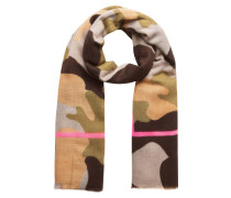 Schal, Camouflage, Streifen