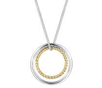 Halskette Kreis Ring Geo Basic Trend 925 Sterling Silber