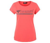 """T-Shirt """"Perla"""", Logo-Print, Rundhalsausschnitt"""