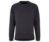 Sweatshirt, feuchtigkeitsabsorbierend, verlängerte Rückseite