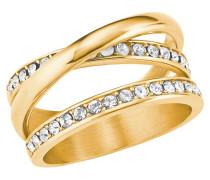 Damen Ring mit Swarovski® Kristallen IP
