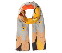 Schal, Blumen-Muster, strukturiert