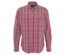 Freizeithemd, Baumwolle, Button-Down-Kragen, Brusttasche