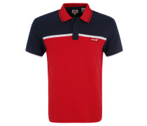 Poloshirt, Baumwoll-Piqué, Blockstreifen