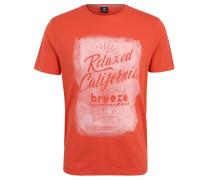 T-Shirt, Vintage-Print, Baumwolle, Rundhalsausschnitt