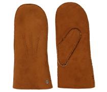 Handschuhe, Leder, Lammfell-Futter, Abnäher