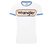 """T-Shirt """"RINGER TEE"""", Logo-Print, Rundhalsausschnitt"""