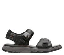 Sandalen, Leder, Klettverschluss