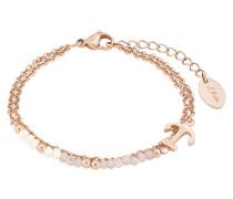 Armband mit Anker 2018350 IP Rose Edelstahl