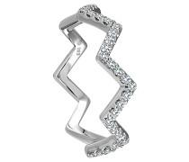 Diamant-Ring 585 Weißgold mit 31 Diamanten, zus. ca. 0
