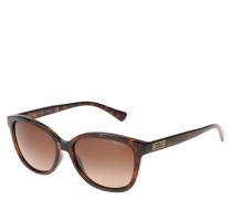 """Sonnenbrille """"RA 5222"""", Havana-Stil, Label-Emblem"""