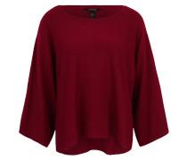 Pullover, Strick, unifarben, Poncho-Optik