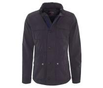 Jacke, verstaubare Kapuze, kontrastfarbene Details, Pattentaschen