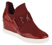 "Wedge Sneaker ""Cosmos"", Leder, Lack"