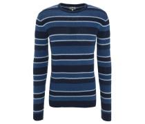 Pullover, geringelt, Rundhalsausschnitt