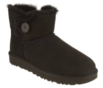 "Boots ""Mini Bailey"", Knopf, Veloursleder"