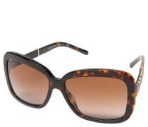 """BE 4173"" Sonnenbrille, havana-, rechteckige Form"