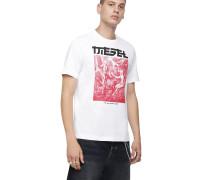 """T-Shirt """"T-JUST-XY"""", Regular Fit, Kurze Ärmel"""