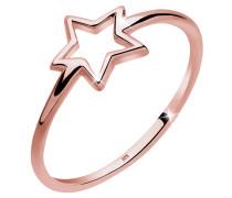 Ring Trendsymbol Stern 925er Sterling Silber