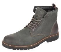 Boots, Leder, verstärkte Ferse, Profilsohle