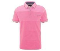 Polo-Shirt, Baumwolle, Kurzarm, Brusttasche, Streifen