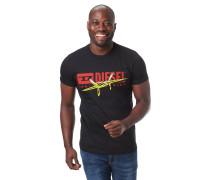 T-Shirt, Logo-Print, Rundhalsausschnitt, reine Baumwolle