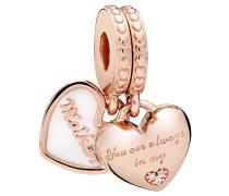"""Charm """"Mother & daughter hearts"""" 782072EN23"""