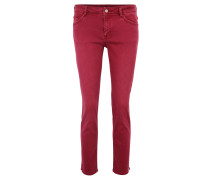 Jeans, Slim Fit, 7/8-Länge, unifarben