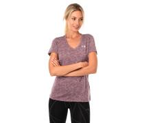 T-Shirt, Melange, V-Ausschnitt, HeatGear®