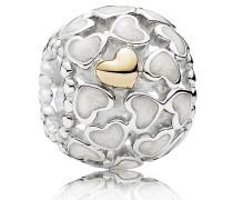 Charm Silberschimmernde Liebe im Überfluss 791283EN23
