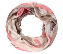 Loop-Schal, Chiffon, Allover-Print, transparent