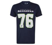 Seattle Seahawks T-Shirt, Print, atmungsaktiv