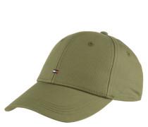 Cap, dezentes Logo-Emblem, Baumwolle