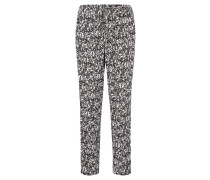 Stoffhose, Relaxed Fit, Allover-Print, Tunnelzug