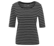 T-Shirt, gestreift, Halbarm, reine Bio-Baumwolle