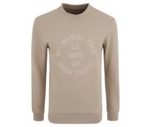 "Sweatshirt ""Steven"", Baumwolle, Flock-Print"