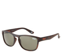 "Sonnenbrille ""SDS Rockstar 122"", Havana-Stil, matt"