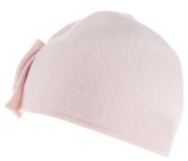 Mütze, Schleife, reine Schurwolle